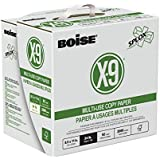 "BOISE X-9 SPLOX Multi-Use Copy Paper, 8.5"" x 11"", Letter, 92 Bright, 24 lb, Reamless (2,500 Sheets)"