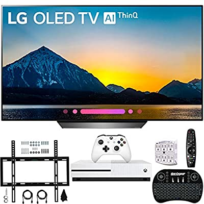 "LG B8PUA 65"" B8 OLED 4K HDR AI Smart TV with Xbox One S 1TB + Wall Mount and More"