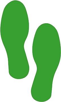 Yellow Footprints 1 Pair 5S Premium Footprint Industrial Floor Marker