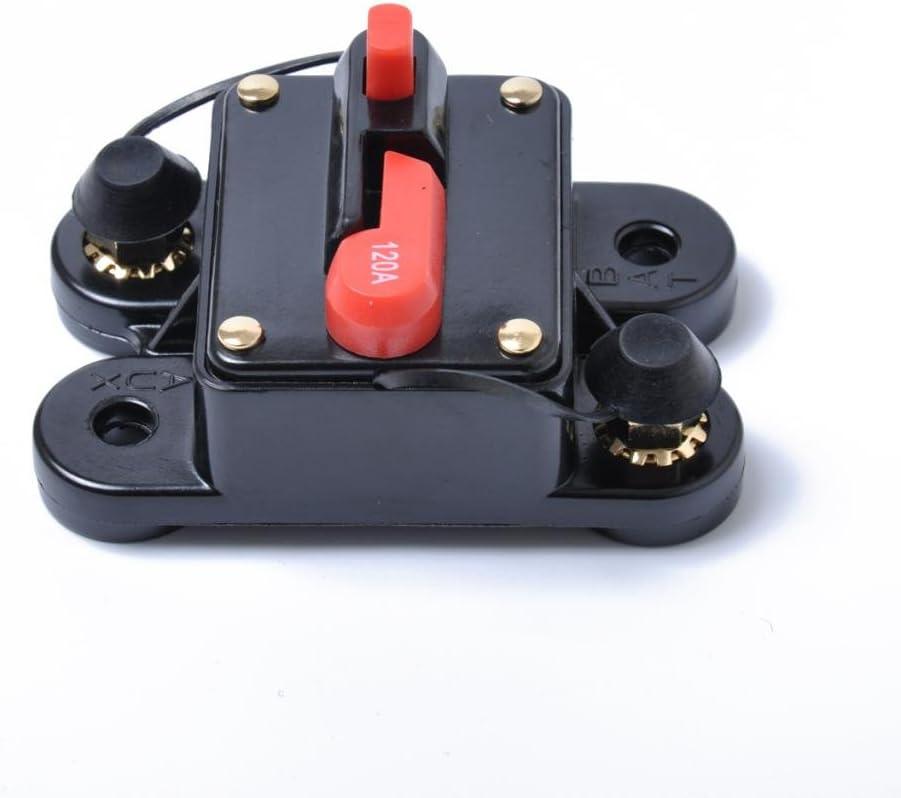 Car Marine Audio 120AMP Circuit Breaker Fuse Holder Reset Switch