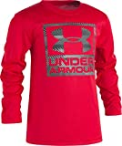 Under Armour Toddler Boys' Speed Lines Long Sleeve Tee, Red, 2T
