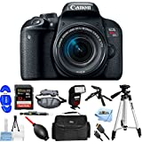 Canon EOS Rebel T7i DSLR Camera with 18-55mm Lens [International Version] (Mega Bundle)