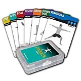 Fitdeck Illustrated Exercise Playing Cards for