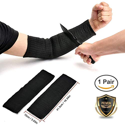 KMBEST Tactical Arm Protection Sleeve Anti-Cut Resistant Anti Abrasion Safety Arm (Best Cut Resistant Tactical Gloves)