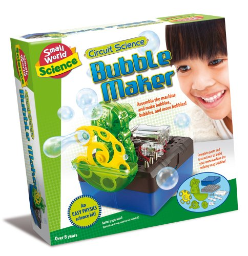 Small World Toys Science - Circuit Science Bubble Maker Kit
