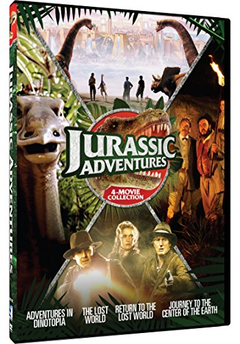 Jurassic Adventures: 4-Movie Collection (Anniversary Edition, 2 Pack, 2PC)