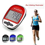 PINGKO Best Pedometer for Walking Accurately Track