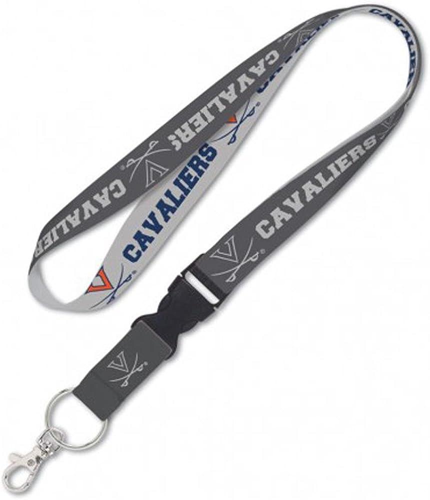 Virginia Cavaliers Premium Lanyard Key Chain Charcoal Edition