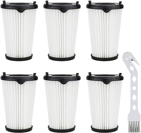 K KUMEED - 6 filtros y 1 cepillo pequeño para aspiradora AEG CX7-2 ...