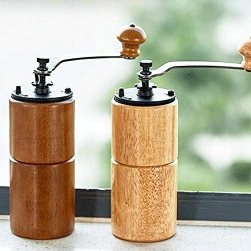 Taohou Máquina de café Inglesa de manivela con hogar de Espesor Ajustable, café Ligero