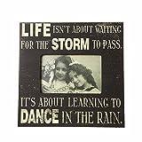 Heaven Sends Dance in The Rain Frame (10.00 x 0.71 x 7.99 ins) (Black)
