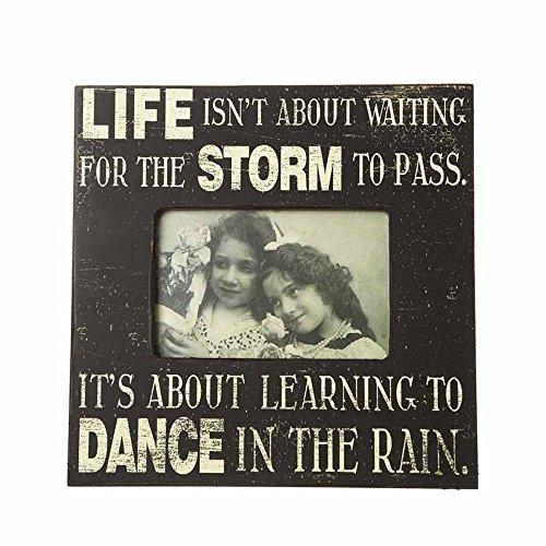 Heaven Sends Dance in The Rain Frame (10.00 x 0.71 x 7.99 ins) (Black) by Heaven Sends