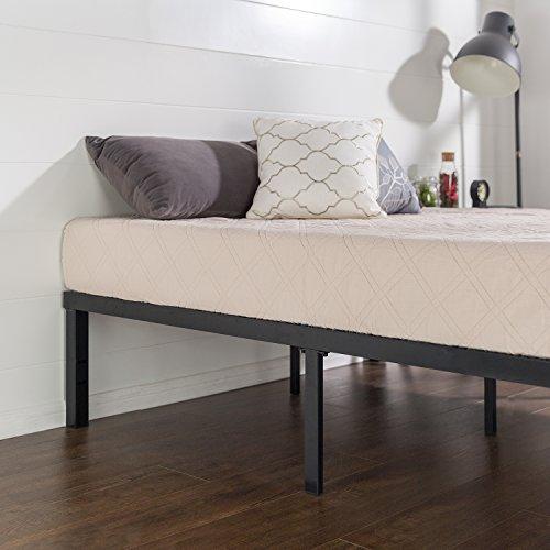zinus quick lock 14 inch metal platform bed frame mattress foundation no box spring needed. Black Bedroom Furniture Sets. Home Design Ideas