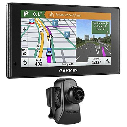 Garmin DriveSmart 60LMT GPS Navigator (010-01540-01) with Garmin Air Vent Mount