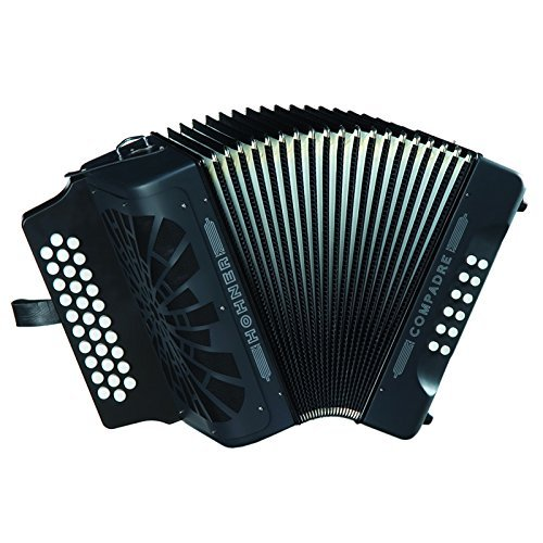 Hohner Compadre GCF Accordion, Black by Hohner Accordions