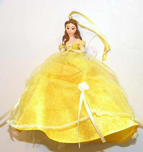 Disneyland Disney World WDW Parks Set All 8 2014 Princess Doll Evening Tuile Gown Dress Ariel Belle Jasmine Snow White Aurora Rapunzel Tiana Cinderella Holiday Ornaments Figurines by Disney (Image #7)