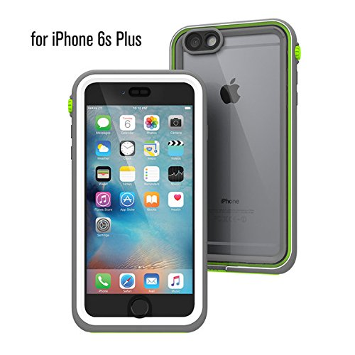 Catalyst Hülle für Apple Iphone 6S plus (grün), wasserdicht, schockabsorbierend, mit voller Touchscreen-Funktion inkl. Touch ID