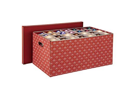 ORGBH Organize It All X-Mas Ornaments Paper Box, 56-Inch
