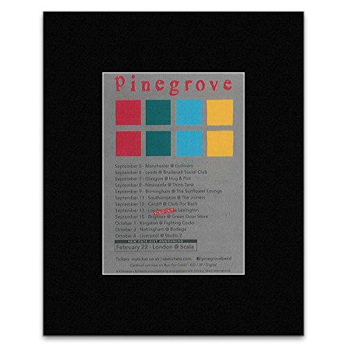 Pinegrove - New Date Added - UK Tour 2016 Mini Poster - 25.4x20.3cm