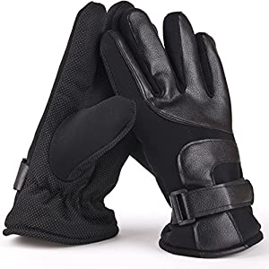 Nizzco Touch Screen Gloves- Thermal Glove Liners Designed for Running, Skiing, Snowboarding, Cycling And Texting,Men's Windproof Outdoor Hand Mittens