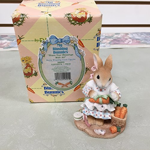 """Priscilla Hillman My Blushing Bunnies """"SHARE YOUR BLESSINGS WITH ALL"""" 386855"""