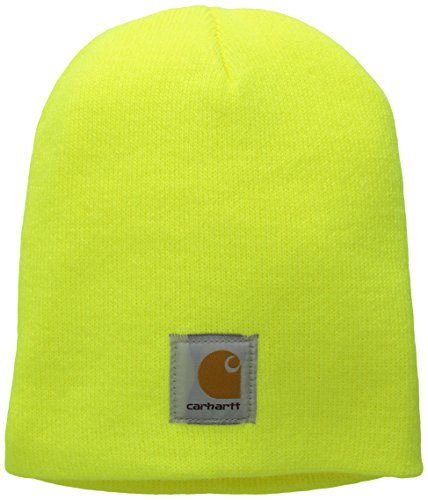 Lime Green Santa Hat - Carhartt Men's Acrylic Knit Hat A205,