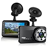 Dash cam, Car Camera Full HD 1920x1080p 3.0 inch LCD Screen Dash Cam for Car, 170 Degree Angle with G sensor, Loop recording, WDR, Motion Detection (1080P) For Sale