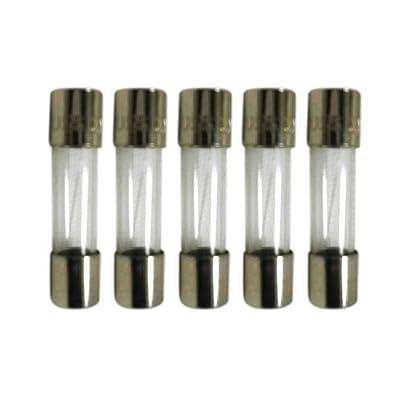 Set of 5 Medium Blow Mini Fuse 125V 6.3A