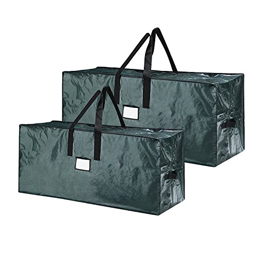 Elf Stor 83-DT5520 Green Christmas Bags Holiday Set for X-Large Trees up to 17 feet (Best Christmas Tree Storage)