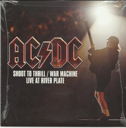 ACDC - Shoot To Thrill (Live) B/w War Machine (Live) 7 Inch Vinyl Record 45 Limited Edition - Zortam Music