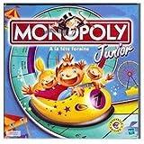 Hasbro -Jeu de société - Monopoly Junior nouvelle édition en euros (Format voyage 18x18cm)