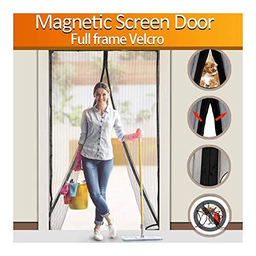 FYLINA Magnetic Screen Door Heavy Duty Mesh Cur...