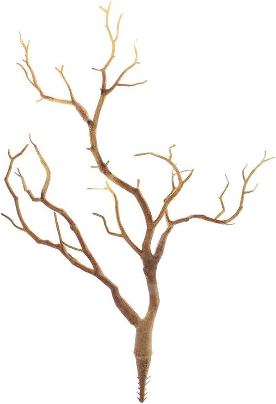 4x Artificial Fake Azalea Flower Branches 29 Heads Flower Twig Floral Decor