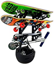 StoreYourBoard Skateboard Rack, 3 Board Wall Storage Mount, Home and Garage