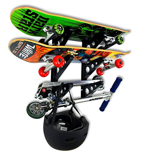 StoreYourBoard Skateboard Rack - 3 Boards