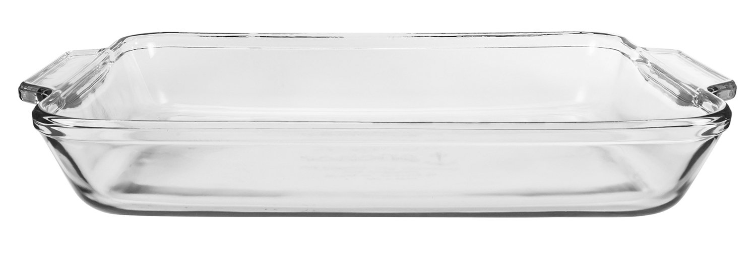 Anchor Hocking 3 Quart Bake-N-Take Dish with Snap On Cover Kitchen Supply 81663OBL11