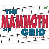 2015 The Mammoth Grid Wall Calendar Zebra Publishing Corp.