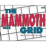 2015 The Mammoth Grid Wall Calendar Zebra Publishing Corp.