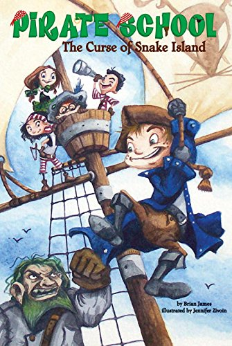 The Curse of Snake Island (Pirate School #1)