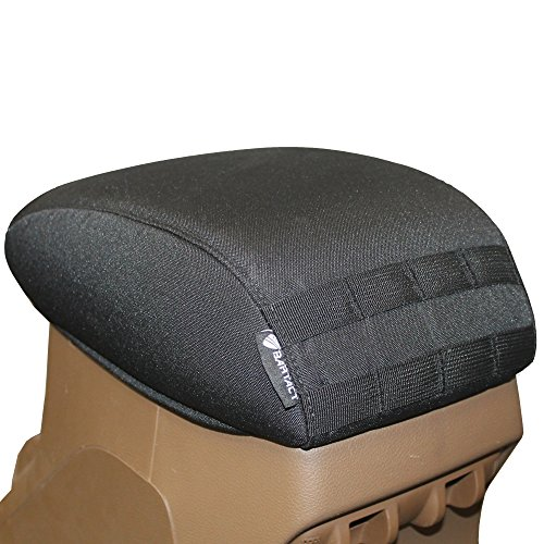 Bartact 2011-2017 Jeep Wrangler JK center Console armrest pad Cover
