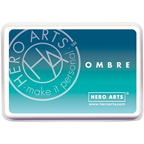 Hero Arts Ink Pad, Ombre Pool/Navy