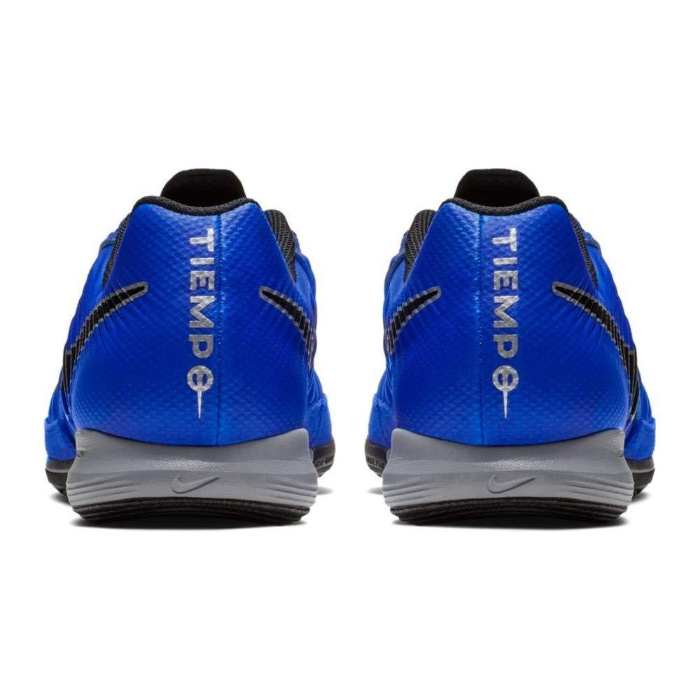 Nike Men's Lunar Legend 7 Pro IC Shoes (Racer BlueBlackMetallic Silver)
