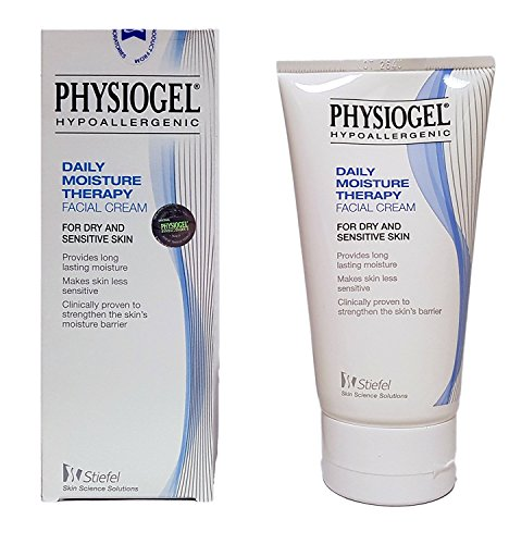 Stiefel Physiogel Hypoallergenic Daily Moisture Therapy Facial Cream 5.07 Fl Oz 150ml