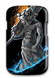 Minnie R. Brungardt's Shop Lovers Gifts New Tpu Hard Case Premium Galaxy S3 Skin Case Cover(the Stone Face Warrior Hill Silent Video Game Other) 1813206K65398992