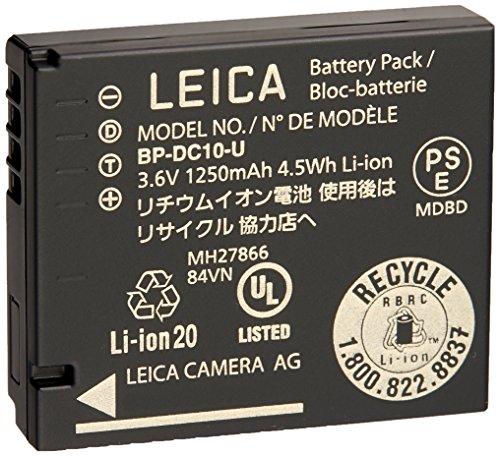 Leica 18720 D-LUX 6 Lithium-Ion Battery BP-DC 10 U (Black) by Leica