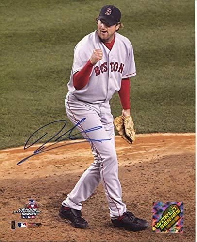 928b65b3c5b Derek Lowe Signed Photo - 8x10 - Autographed MLB Photos at Amazon s ...