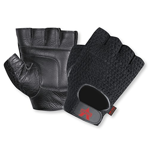Valeo Industrial V450 Mesh Fingerless Anti-Vibe Gloves, VI4880, Pair, Black, Medium by Valeo