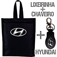 Kit Lixeirinha + Chaveiro Hyundai