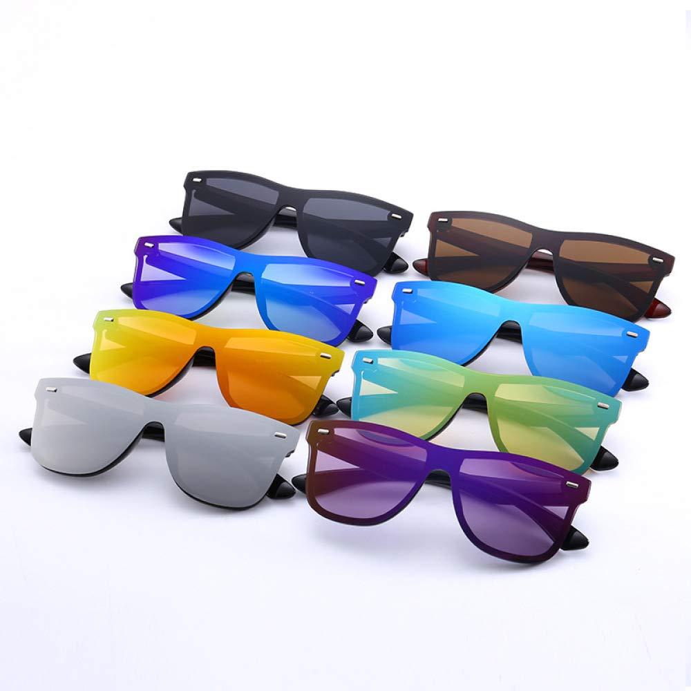 Yangjing-hl Gafas de Sol siamesas para Hombres Gafas de Sol ...