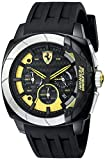Automotive : Ferrari Men's 830206 Aerodinamico Black Watchwith Silicone Strap